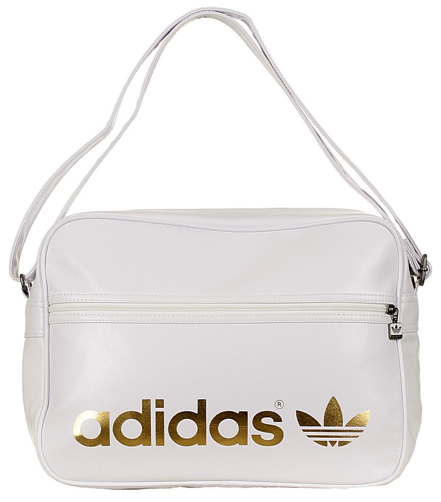 ... taška Adidas AC Airline - WhiteMetal Gold ... on sale 6e0c9 ae254 ... f7c6dea7e2569