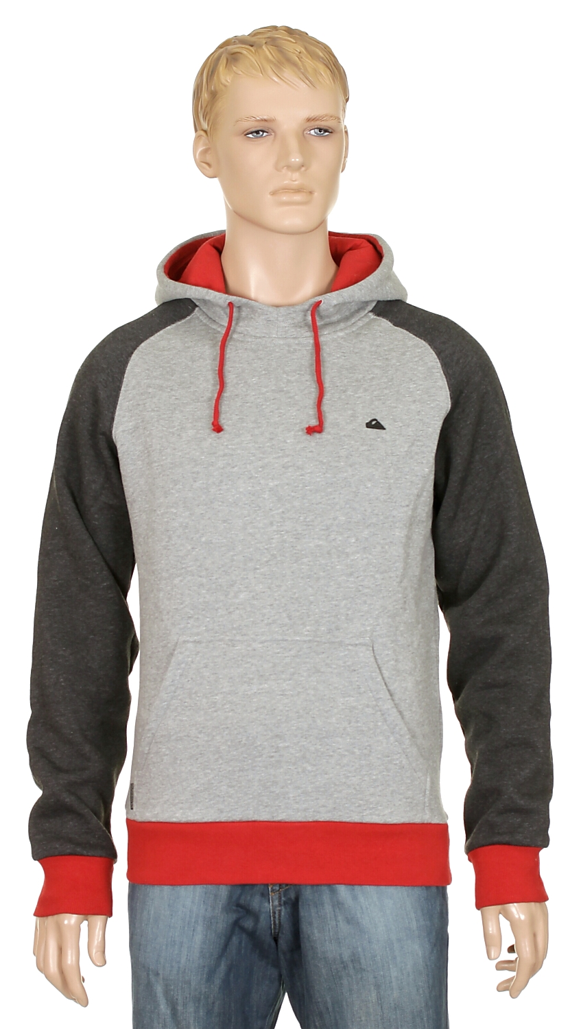 mikina Quiksilver Majors - Light Gray Heather
