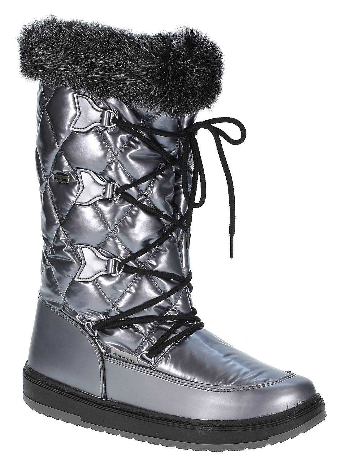 boty Northill 82404/5757 - Silver