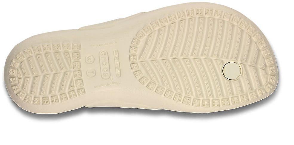žabky Crocs Kadee Flip - Oyster - Snowboard shop ...