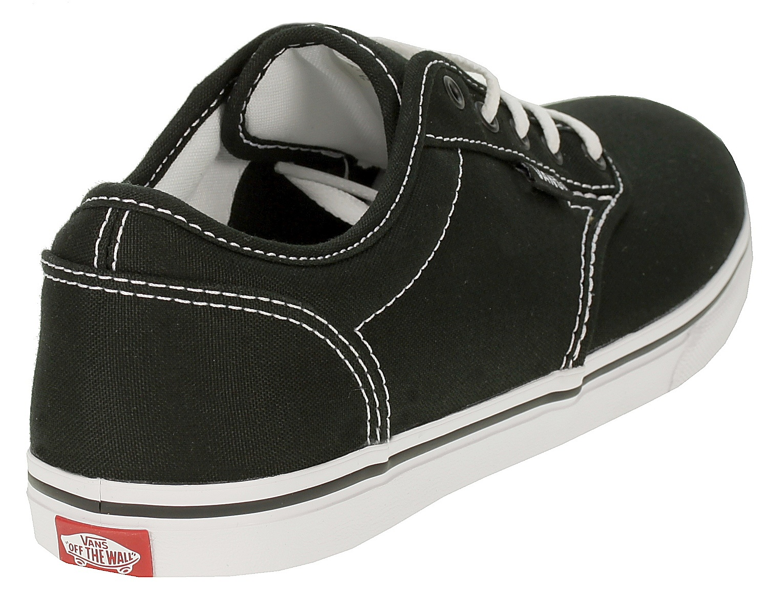 boty Vans Atwood Low - Canvas/Black/White - Snowboard shop ...