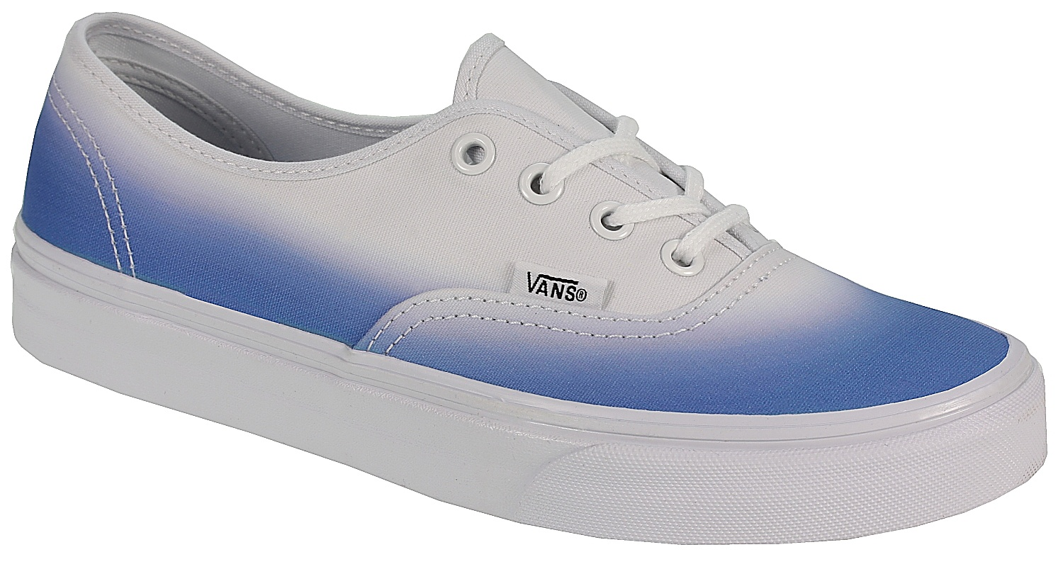 Vans Shoes Blue And White