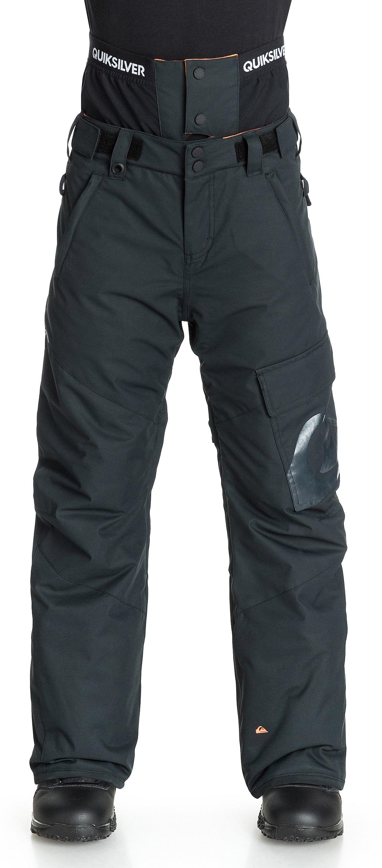 kalhoty Quiksilver County Youth - KVJ0/Black - Snowboard ...