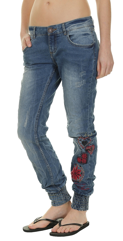 jeans Desigual 57D26C1/Punos Etnic