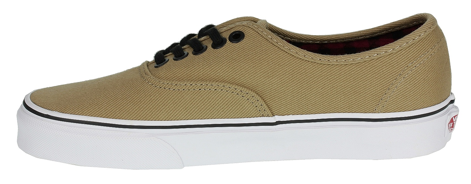 topánky Vans Authentic - Twill & Gingham/Cornstalk/Black ...