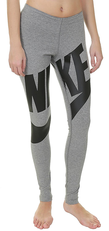 02 >> legíny Nike Leg A See Exploded - 091/Carbon Heather/Black ...