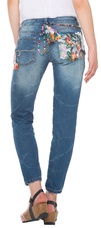 Jeans Desigual 61d26e1 Aloha Skin 5053 Denim Medium Wash
