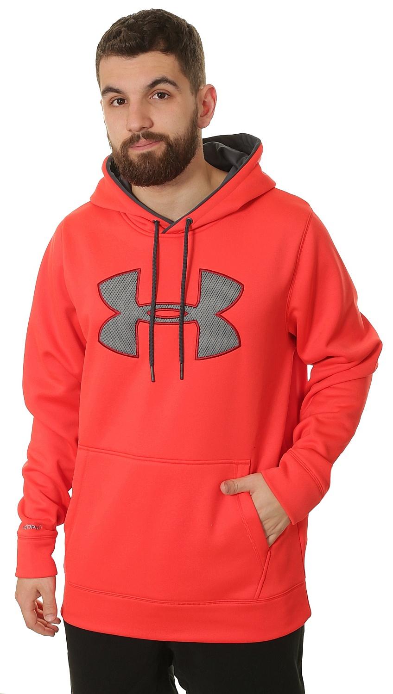 Under Armour Logo >> mikina Under Armour Storm AF Big Logo-Solid - 985/Rocket Red - Snowboard shop, skateshop ...