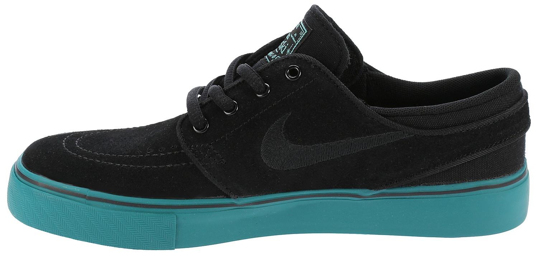 boty Nike SB Stefan Janoski GS - Black/Black/Rio Teal ...