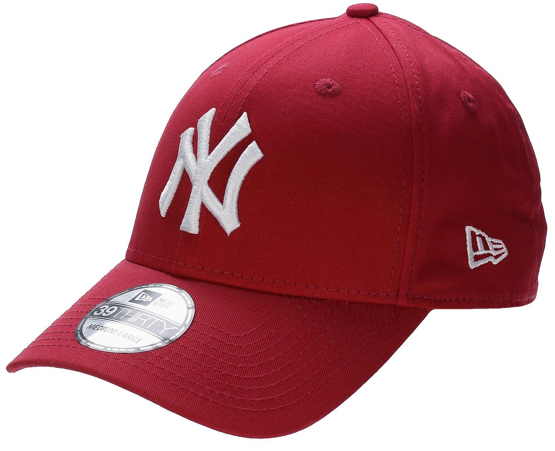 kšiltovka New Era 39T League Basic MLB New York Yankees - Scarlet/White - Snowboard shop ...