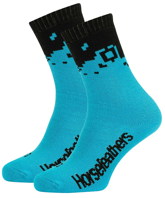 ponožky Horsefeathers Bricks - Blue