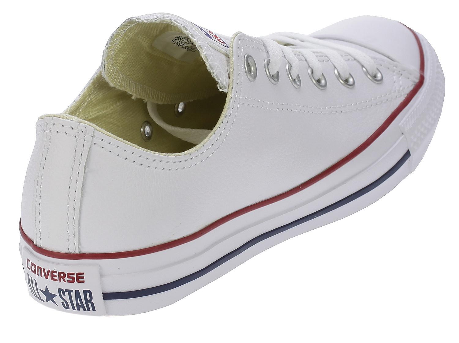 boty Converse Chuck Taylor All Star Leather OX - 132173/White