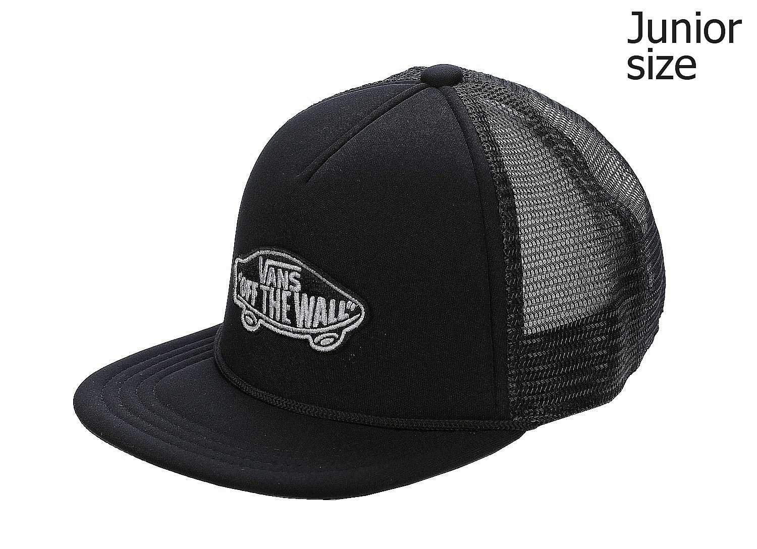 kšiltovka Vans Classic Patch Trucker Youth - Black/Black ...