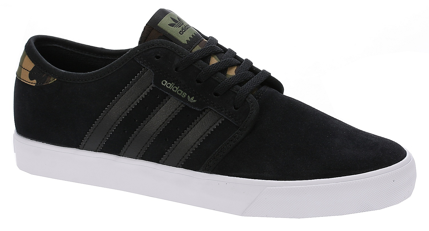 boty adidas Originals Seeley - Core Black/Olive Cargo ...