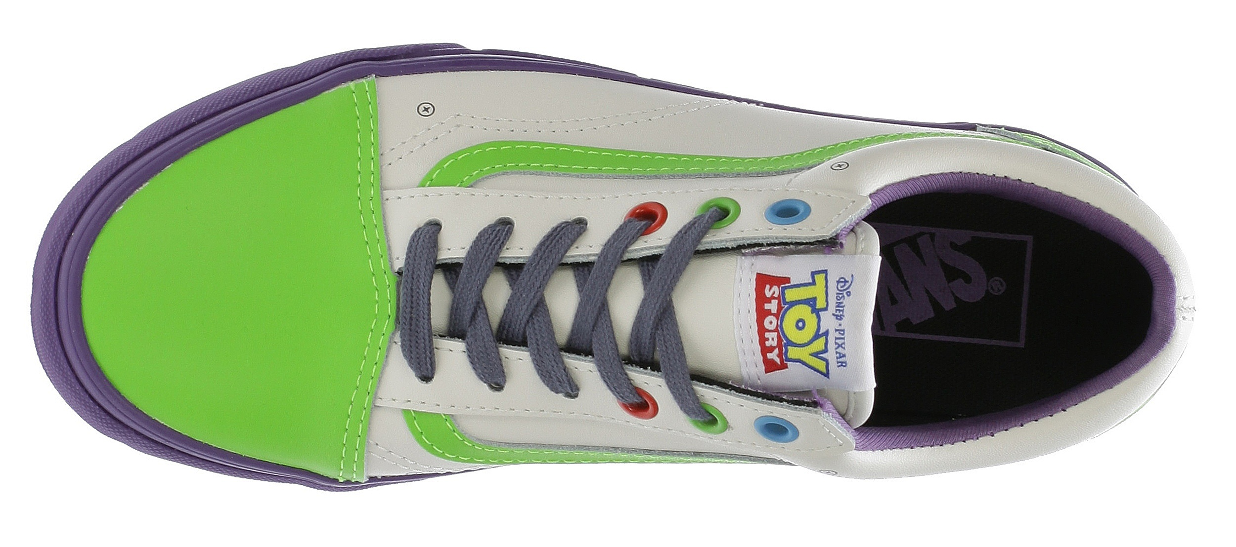 boty Vans Old Skool - Toy Story/Buzz Lightyear/True White ...