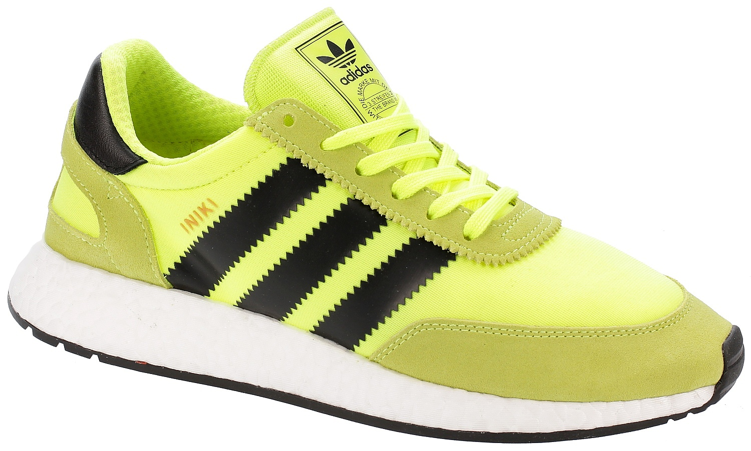 Runner >> Schuhe adidas Originals Iniki Runner - Solar Yellow/Core Black/White - Snowboard shop, skateshop ...
