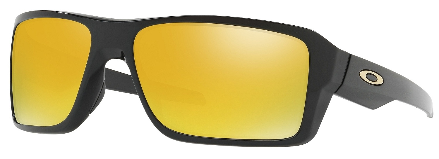 brýle Oakley Double Edge - Polished Black/24K Iridium - Snowboard shop, skateshop - snowboard ...