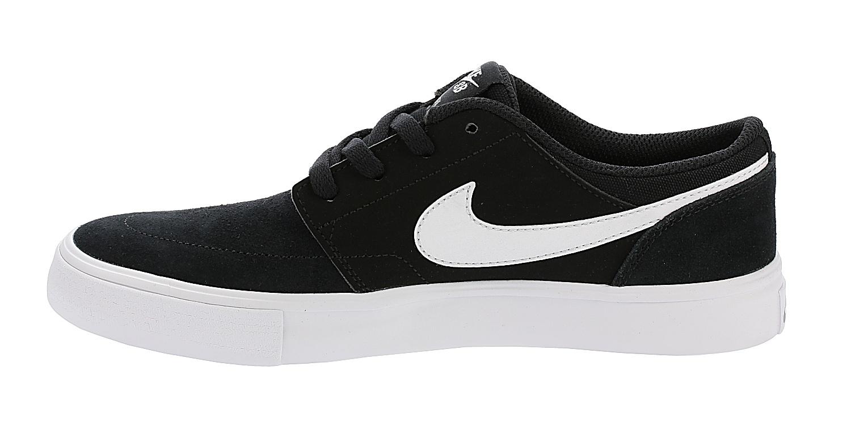 boty Nike SB Portmore II GS - Black/White - Snowboard shop ...